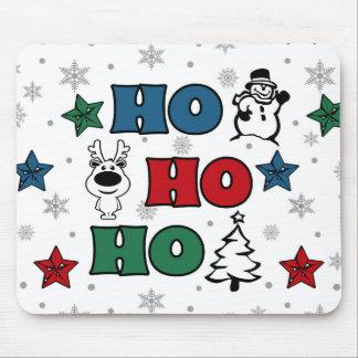 Ho-Ho-Ho Christmas design Mouse Pad