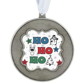 Ho-Ho-Ho Christmas design Ornament