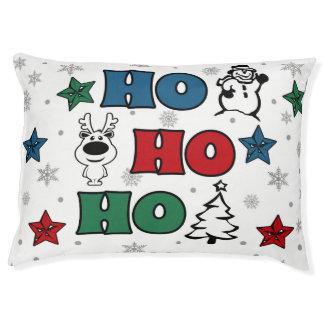 Ho-Ho-Ho Christmas design Pet Bed