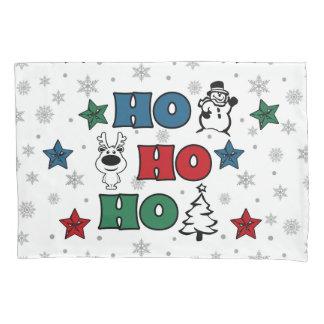 Ho-Ho-Ho Christmas design Pillowcase