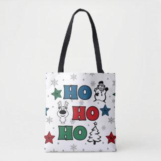 Ho-Ho-Ho Christmas design Tote Bag