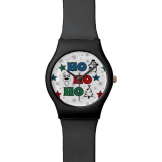 Ho-Ho-Ho Christmas design Watch