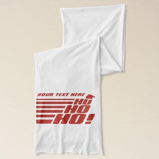 Ho Ho Ho custom Xmas scarfs Scarf