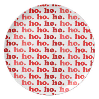 ho. ho. ho. dinner plates