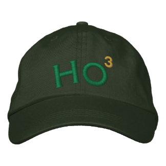 Ho Ho Ho Embroidered Hat