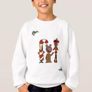 Ho! Ho! Ho! from 3 Christmas Nuts Sweatshirt