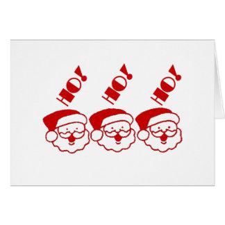 Ho! Ho! Ho! - Greeting Card
