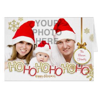 HO!HO!HO! Happy Christmas Card