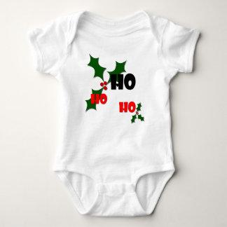 Ho Ho Ho Holly & Berries Baby Bodysuit