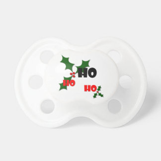 Ho Ho Ho Holly & Berries Baby Pacifier