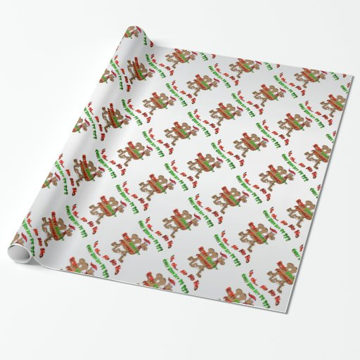 Ho Ho Ho Hump Day Christmas Camel Wrapping Paper