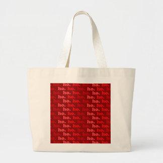 ho. ho. ho. large tote bag