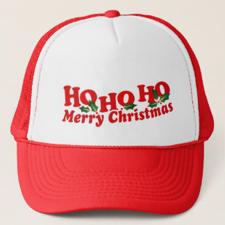 Ho Ho Ho Merry Christmas hat