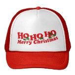 """""""Ho Ho Ho Merry Christmas"""" hat"""