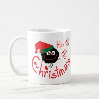 ho ho ho merry Christmas holidays mug