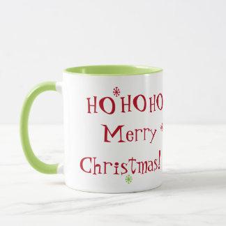 HO HO HO Merry Christmas! Mug