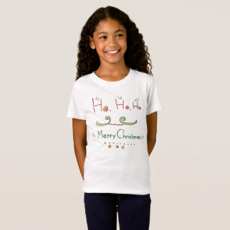 HO HO HO Merry Christmas T-Shirt