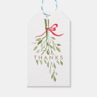 Ho Ho Ho & Mistletoe   Holiday Pack Of Gift Tags