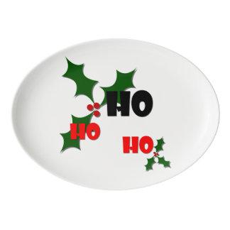 Ho Ho Ho Mistletoe Platter