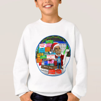 Ho Ho Ho Obama Sweatshirt