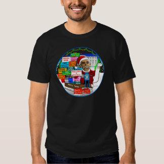 Ho Ho Ho Obama T Shirts