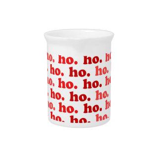 ho. ho. ho. pitcher