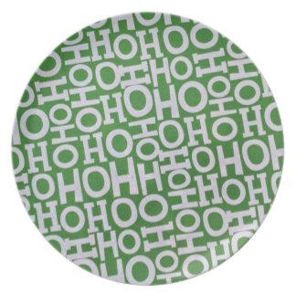 Ho! Ho! Ho! Plate