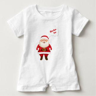Ho ho ho Santa all Smiles Baby Romper