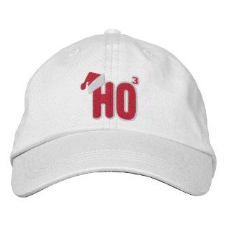 Ho Ho Ho Santa Nerd Embroidered Hat