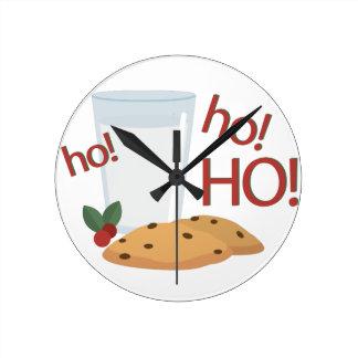 Ho Ho Ho Snack Wallclocks