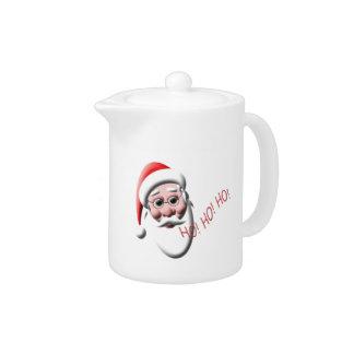 Ho ! Ho ! Ho ! Théière de Noël du père noël