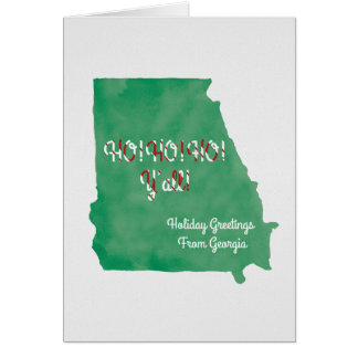 Ho! Ho! Ho! y'all card