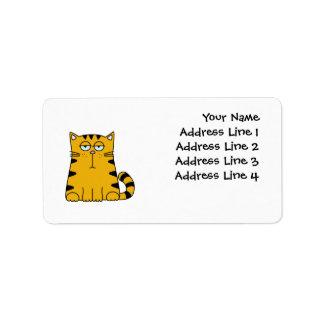 Ho Hum Kitty Label