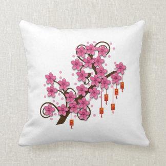 Hoa Dao Throw Pillow