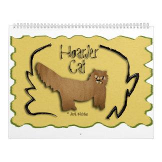 Hoarder Cat Calendar 2016