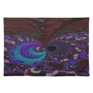 Hoarse Halo Fractal Placemat