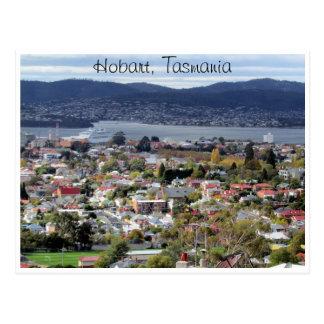 hobart suburbs postcard