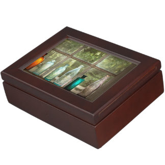 Hobby - Bottles - It's all about the glass Keepsake Box