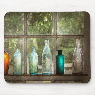 Hobby - Bottles - It's all about the glass Mouse Pad