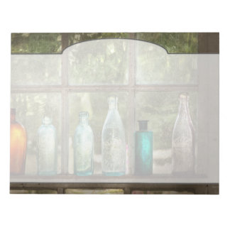 Hobby - Bottles - It's all about the glass Notepad