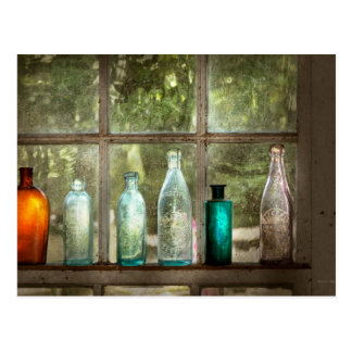 Hobby - Bottles - It's all about the glass Postcard