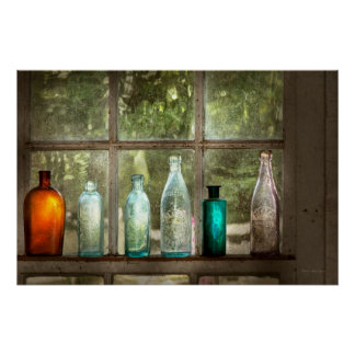 Hobby - Bottles - It's all about the glass Poster