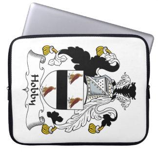 Hobby Family Crest Computer Sleeve