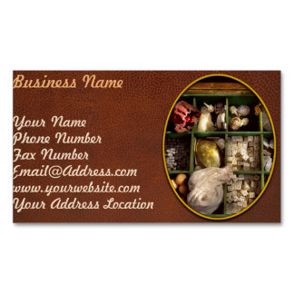 Hobby - Game - The bandit's game Business Card Magnet
