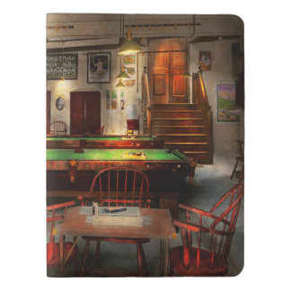 Hobby - Pool - The billiards club 1915 Extra Large Moleskine Notebook
