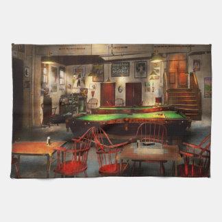 Hobby - Pool - The billiards club 1915 Kitchen Towel