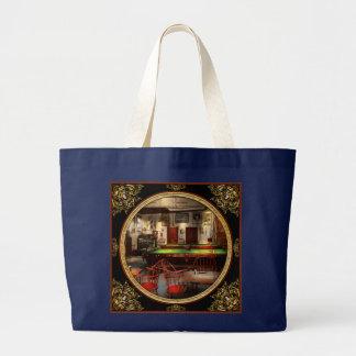 Hobby - Pool - The billiards club 1915 Large Tote Bag