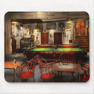 Hobby - Pool - The billiards club 1915 Mouse Pad