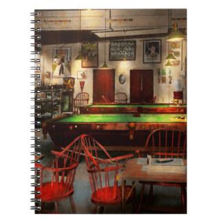Hobby - Pool - The billiards club 1915 Spiral Note Book