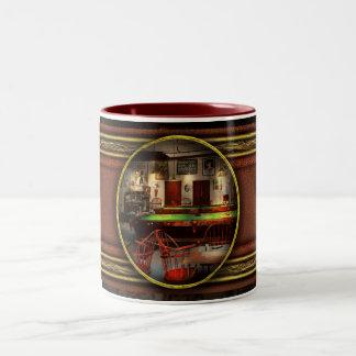 Hobby - Pool - The billiards club 1915 Two-Tone Coffee Mug